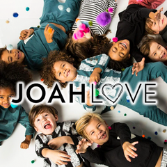Joah Love comfortable clothing for hip kids and babies.