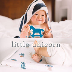 Swaddles and Canopies from Little Unicorn.