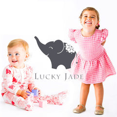 Clothing for babies and children by Lucky Jade.