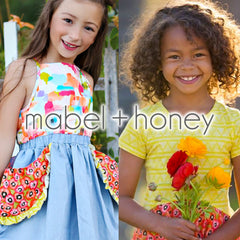 Mabel + Honey dresses, rompers, and more for little girls.