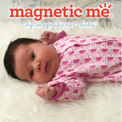 Magnetic Me - magnetic fastening clothing for babies.