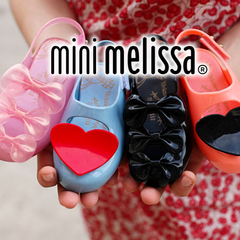 Mini Melissa shoes for little girls.