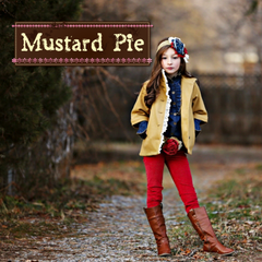 Mustard Pie clothing for children and babies.
