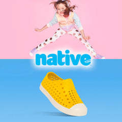 Native shoes for children and babies.