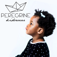 Peregrine clothing for children and babies.