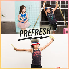 Prefresh clothing for children and babies.