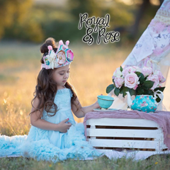 Royal and Rose crowns for children and babies.