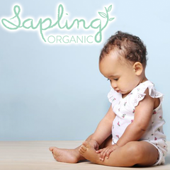 Sapling Organic clothing for babies and children.