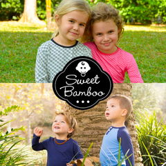 Sweet Bamboo clothing for children.