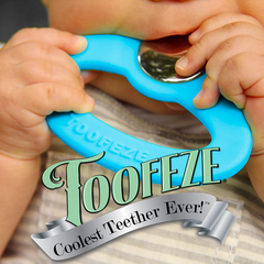 Toofeze teether for babies.