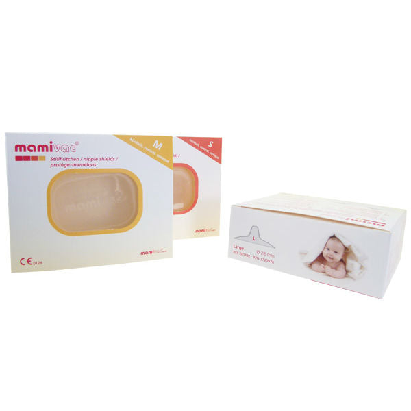 Conical- Mamivac Nipple Shields