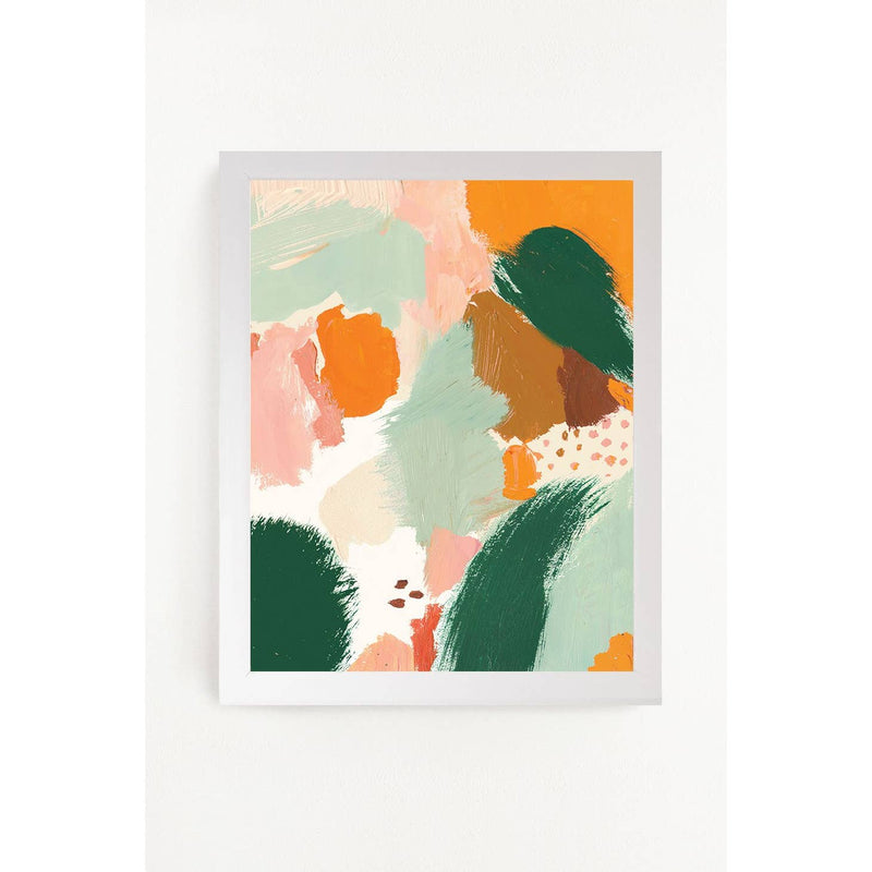 Abstract Meadow Art Print 11x14
