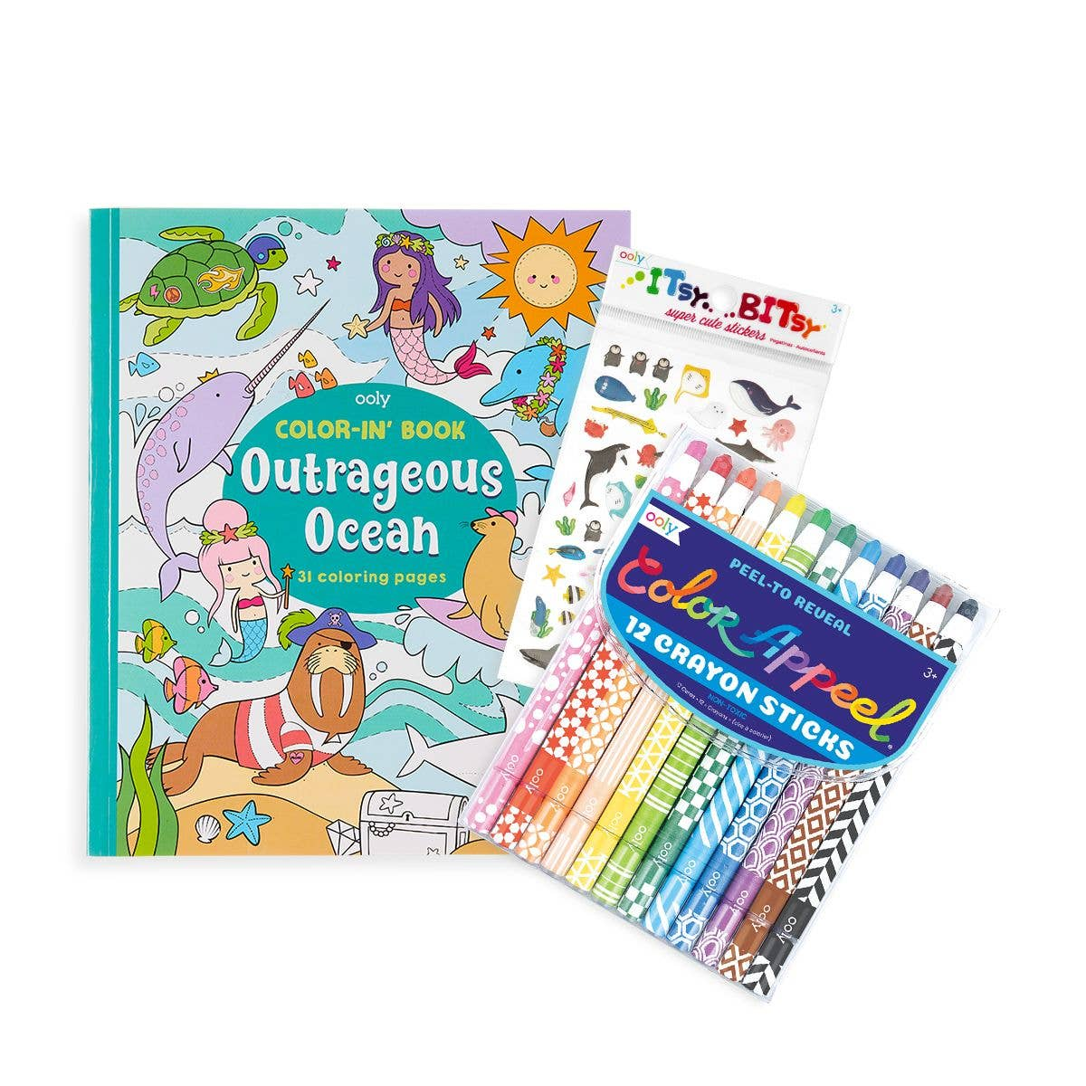 Outrageous Ocean Appeel Coloring Pack