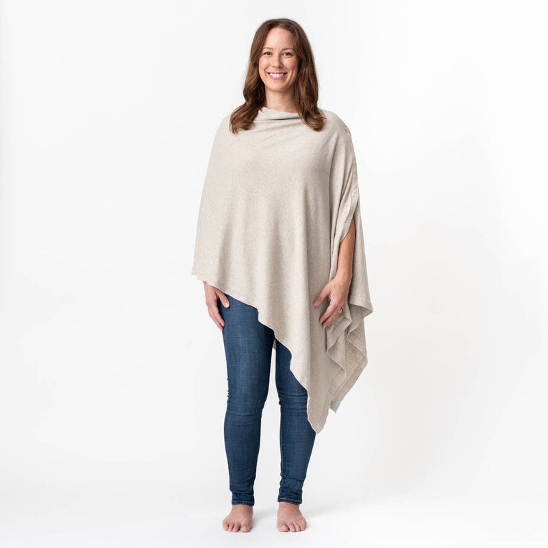 Birch Organic Cotton Nursing Poncho