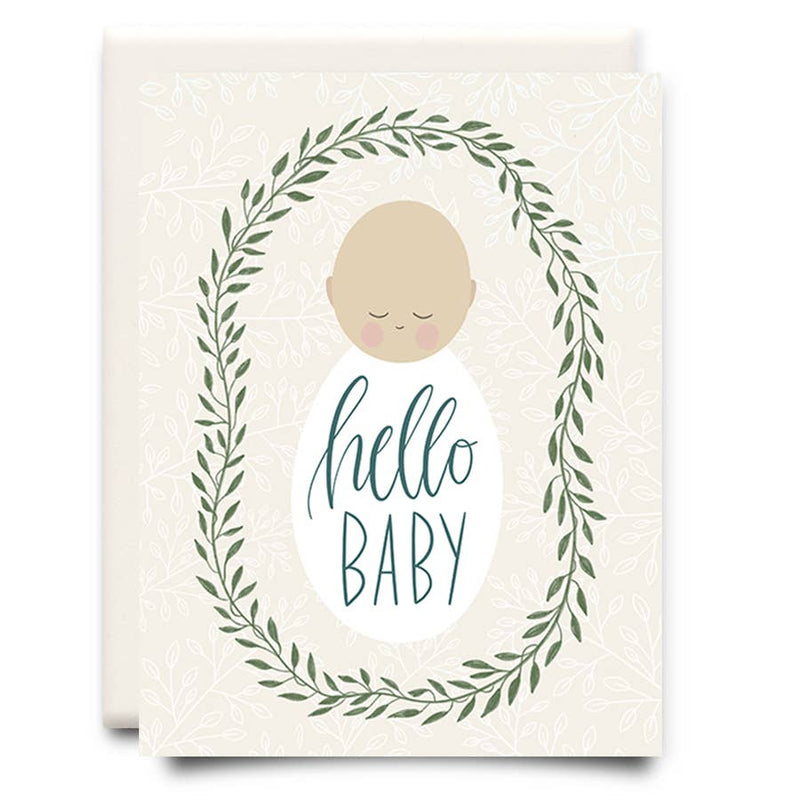 Hello Baby | Newborn Greeting Card