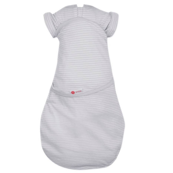 Grey Stripe Transitional Swaddleout