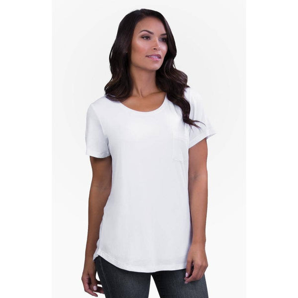 White Perfect Nursing Tee
