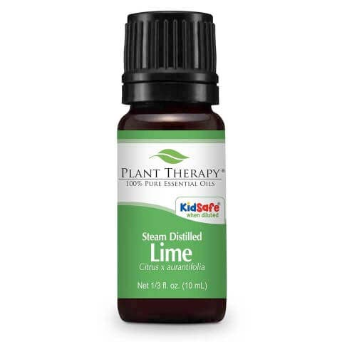 10 mL Lime Steam Distilled Essential Oil