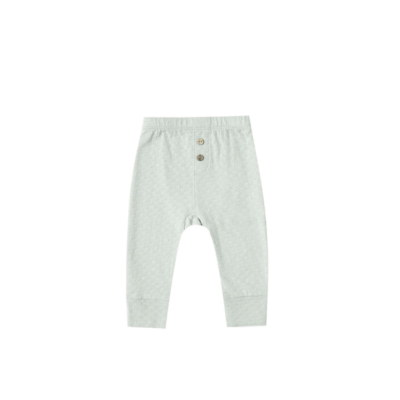 Sea Glass Pointelle Pajama Pant