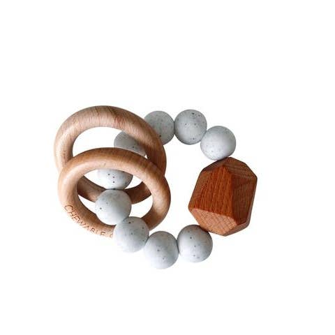 Moonstone Hayes Silicone Wood Teether