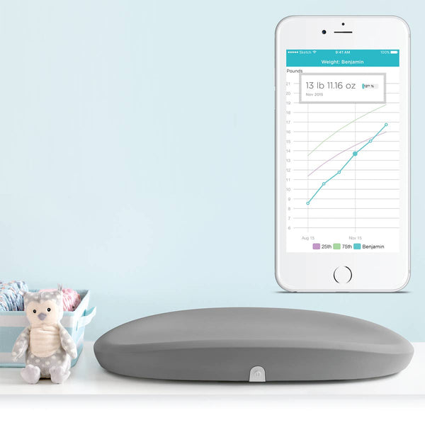 Hatch Grow Smart Changing Pad & Scale