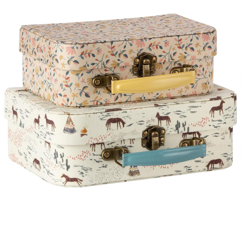 Suitcase with Fabric - 2 pcs