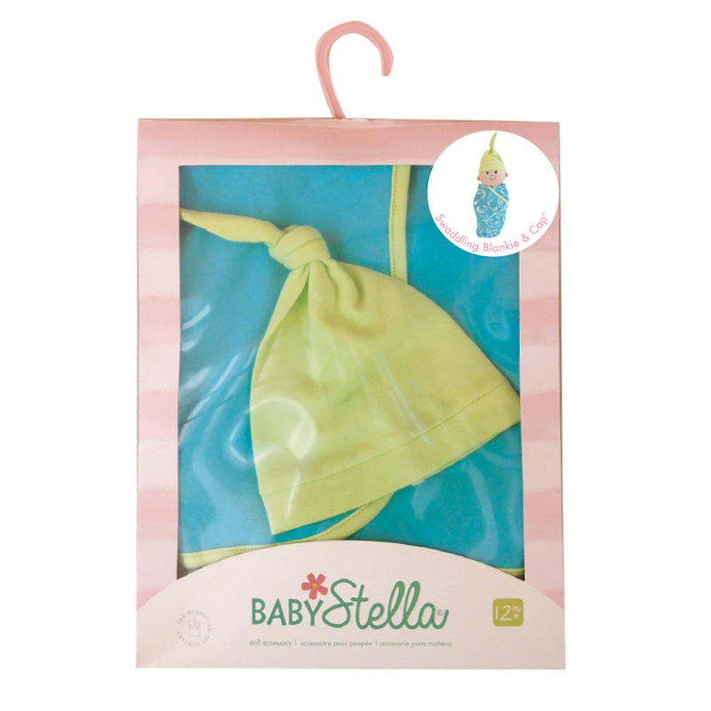 Baby Stella Swaddling Blanket and Cap