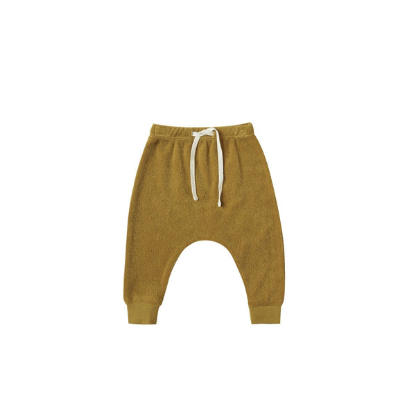 Ocre Terry Cloth Sweatpant