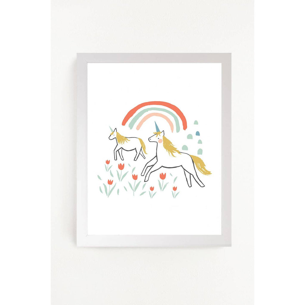 Unicorn Land Art Print 11x14