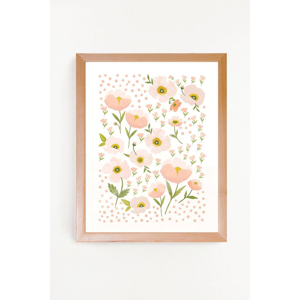Blush Bloom Art Print 11x14