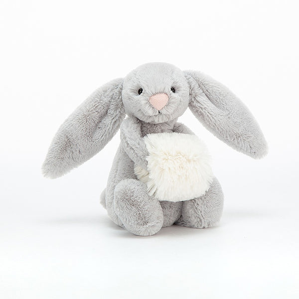 Small Grey Bashful Snow Bunny
