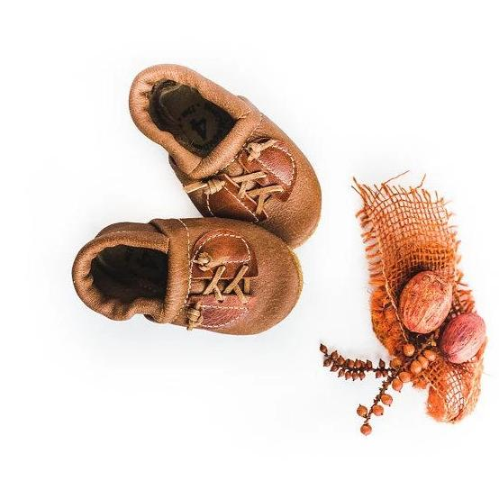 Rust Oxfords Moccasins