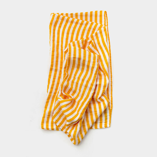 Citrus Stripe Swaddle