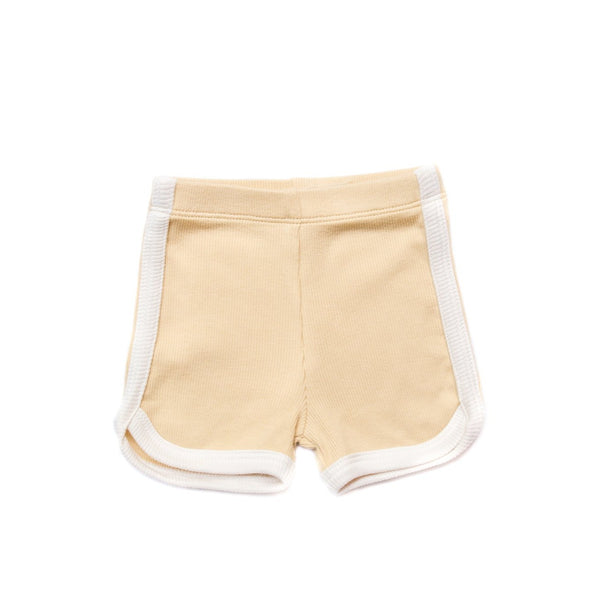 Sand Ribbed Shorts