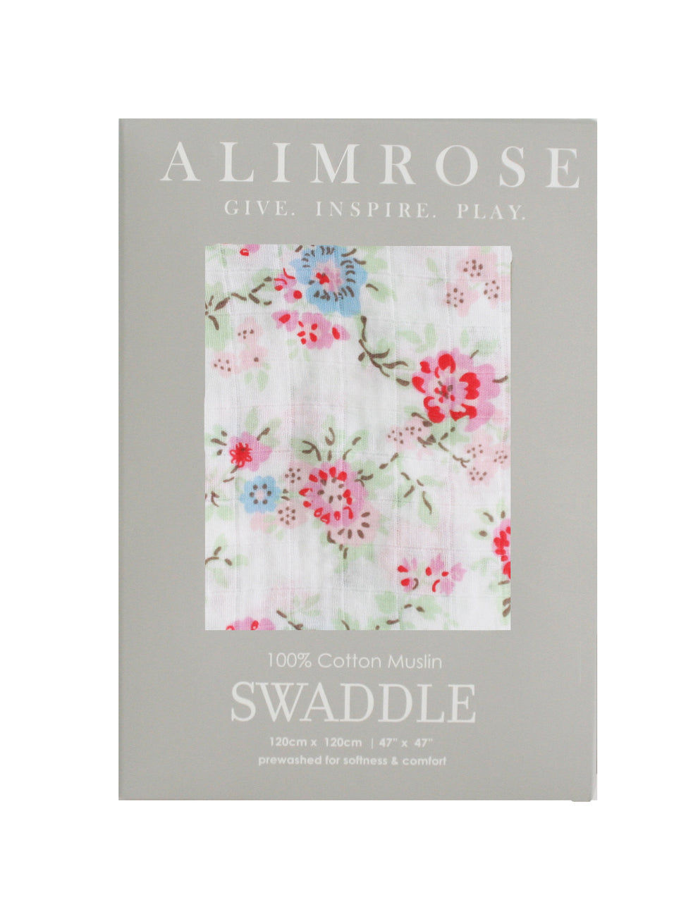 Cottage Floral Muslin Swaddle