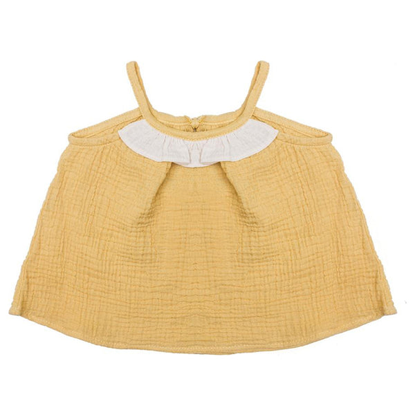 Honey/Natural Margaux top