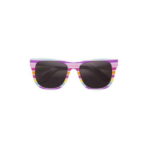 Rainbow Stripe Reese Sunglasses