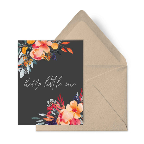 Hello Little One- Baby Card