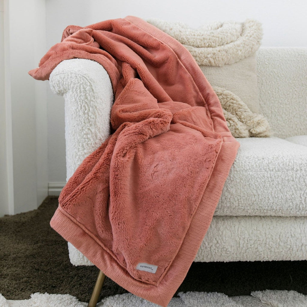 Clay Lush Extra Large Blanket