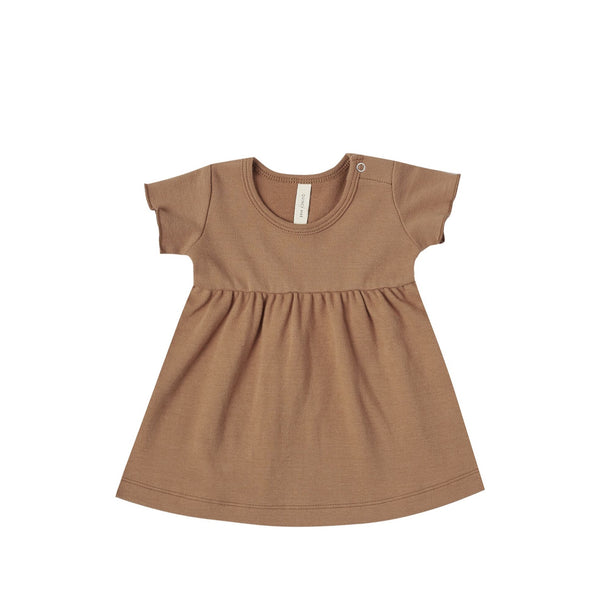 Rust Short Sleeve Dress