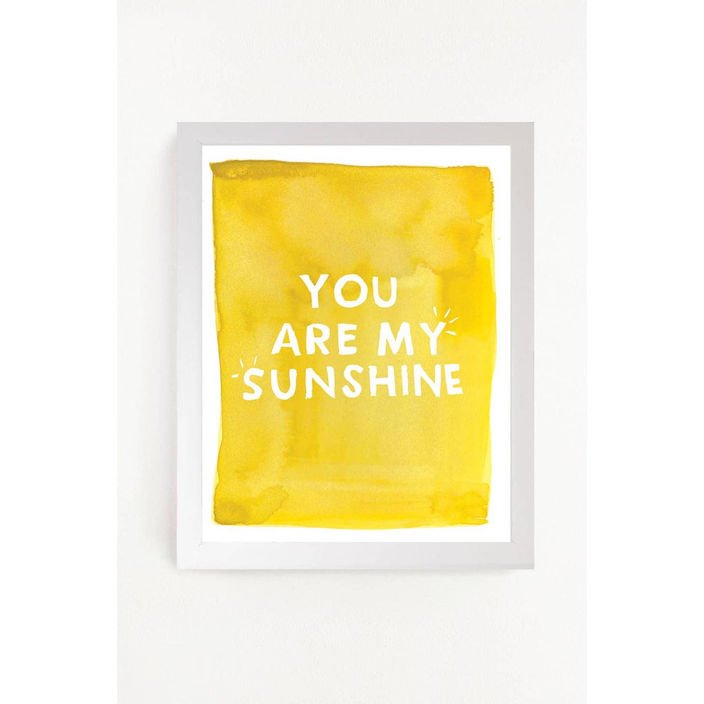You are my Sunshine Art Print 11x14