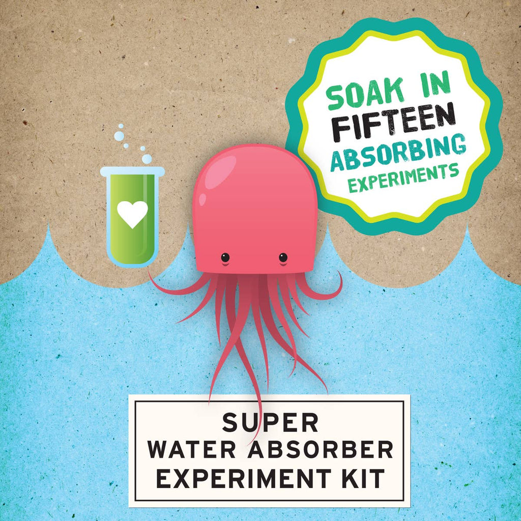 Super Water Absorber Experiment Kit