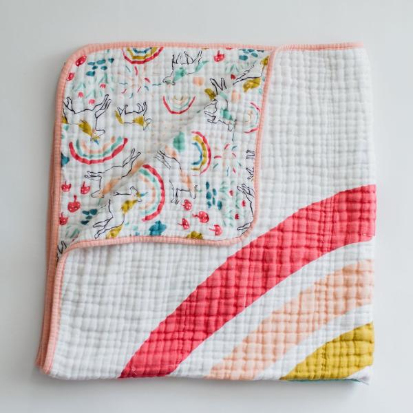 Unicorn Land Reversible Quilt