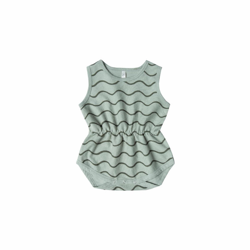 Rolling Waves Romper