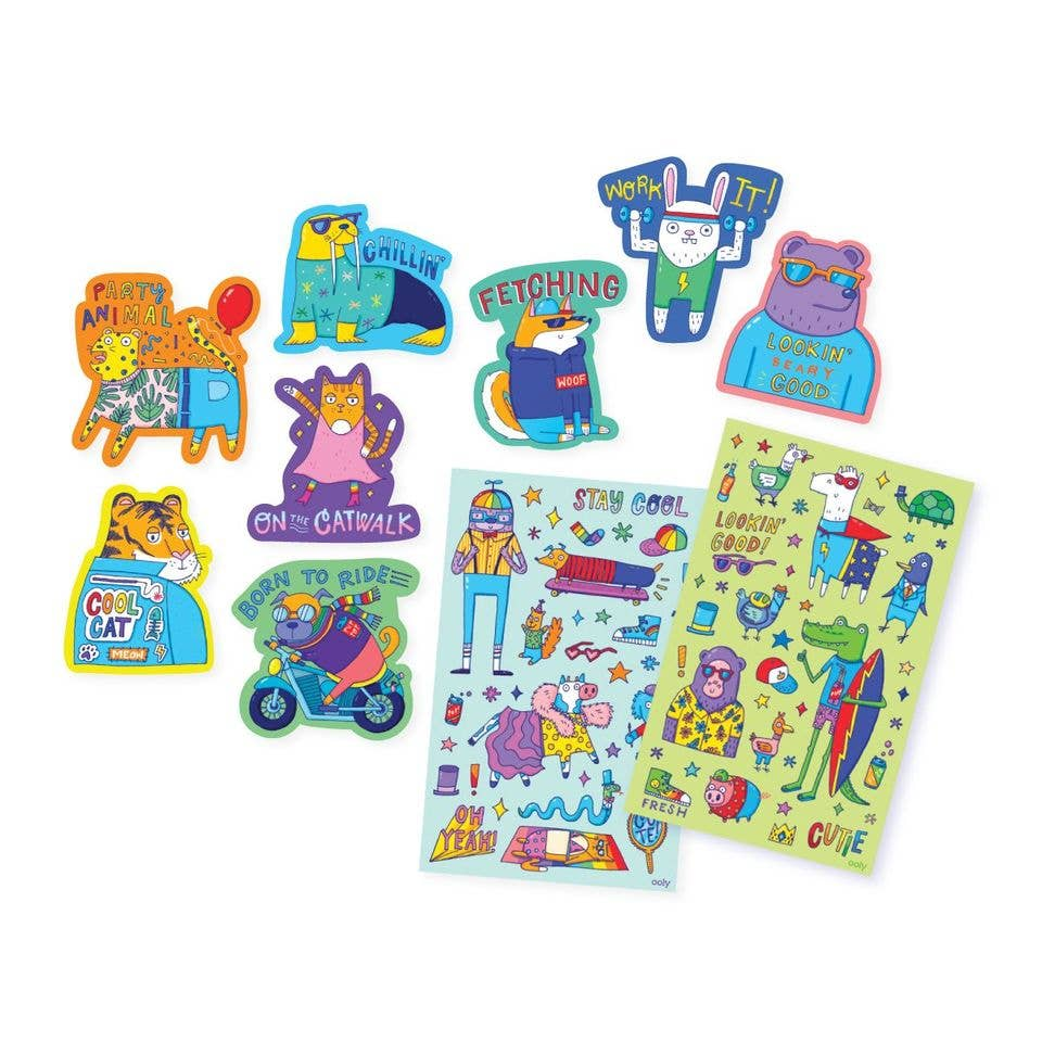 Scented Scratch Stickers: Dressed To Impress