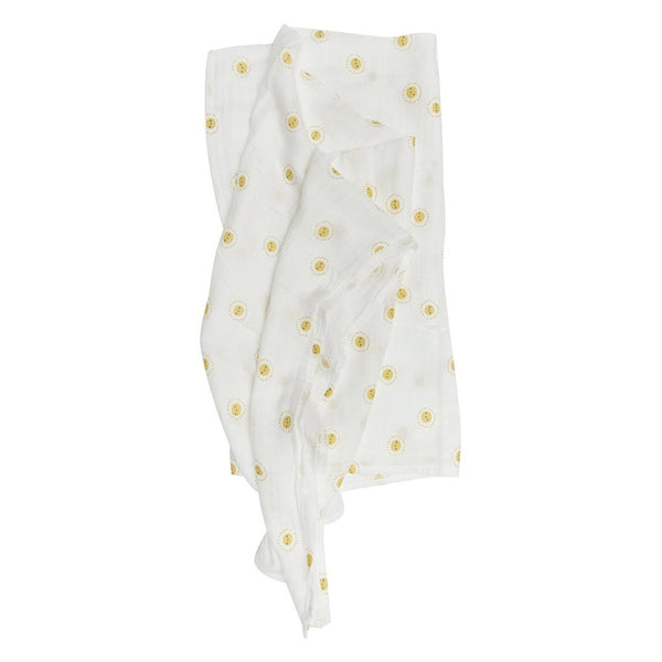 Rise and Shine Muslin Swaddle
