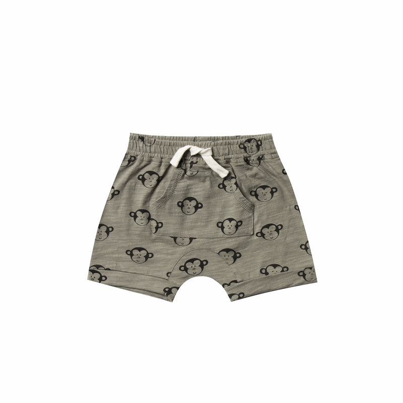 Monkey Front Pouch Shorts