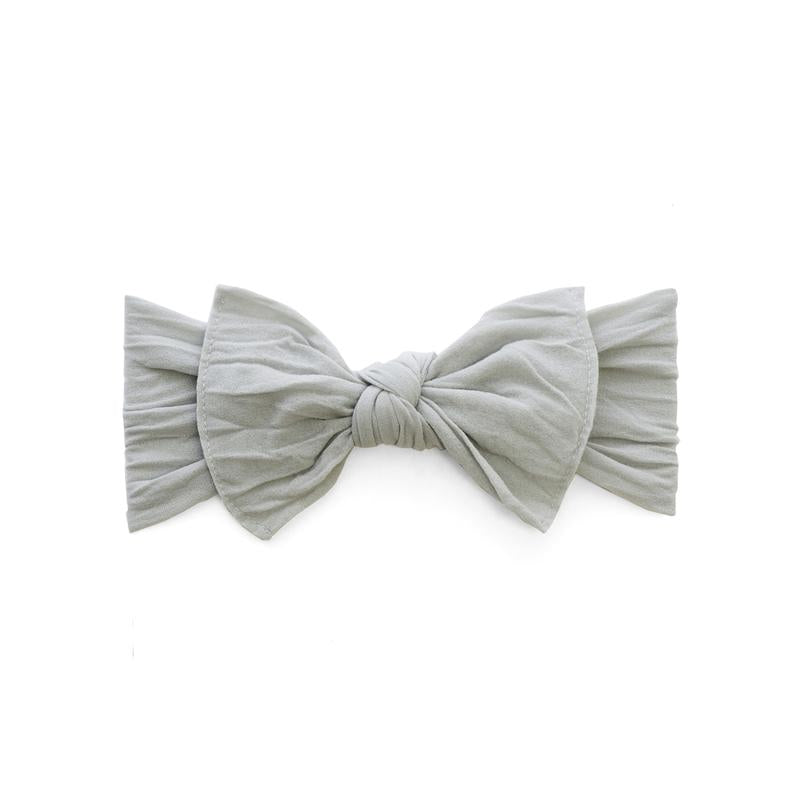 Grey Knot Headband