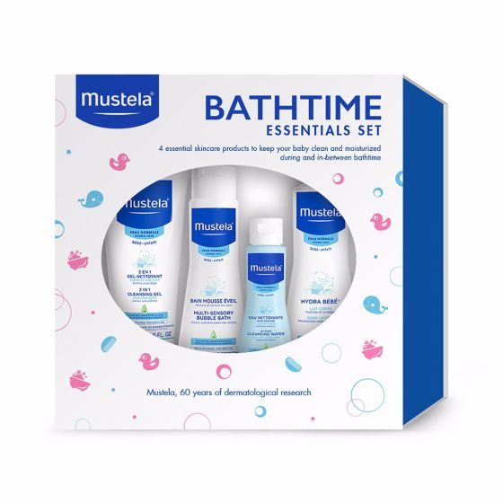Bathtime Essentials Set