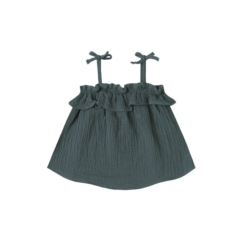 Storm Ruffle Tube Top